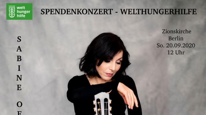 """""""EINFACH TEILEN"""" - SPENDENKONZERT WELTHUNGERHILFE"""