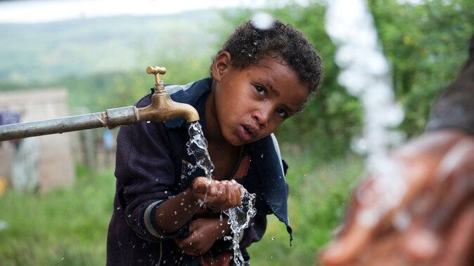 Wasser und Toiletten für Menschen in Äthiopien