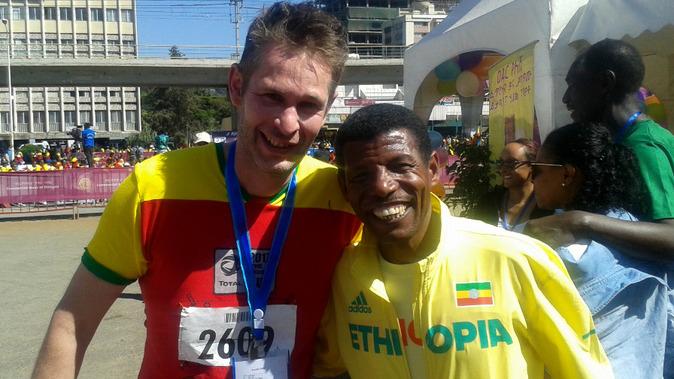 Ethiopians run - Running for Ethiopia