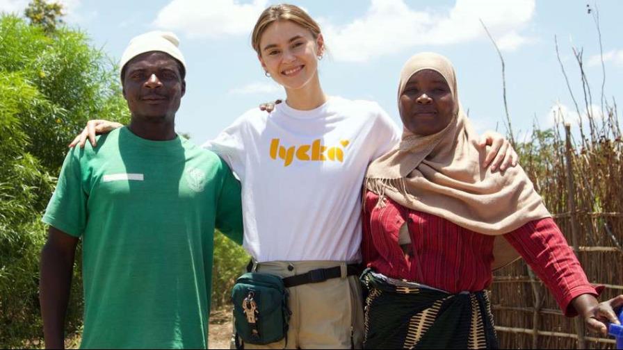 Stefanie Giesinger & Lycka für Schulmahlzeiten in Malawi