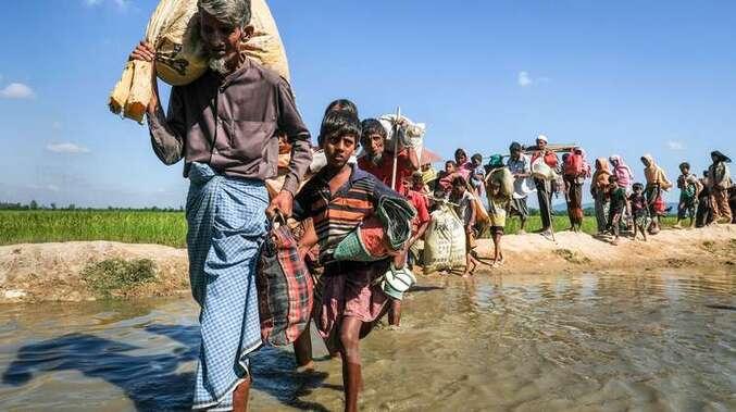 Hilfe für Flüchtlinge in Bangladesch