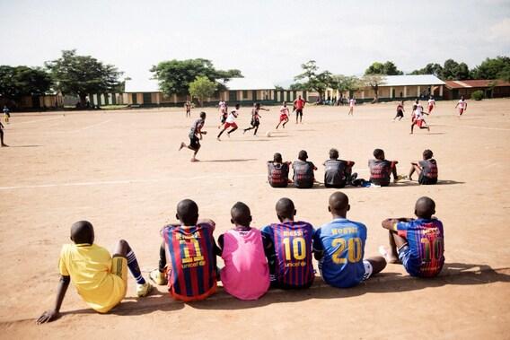 Fußballschule für den Frieden