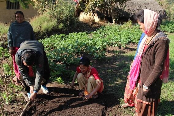 Unterstützung für Kleinbauern in Nepal