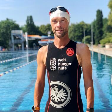 Eintracht Frankfurt Triathlon beim Ironman Hawaii