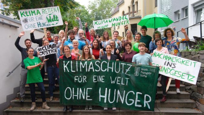 Klimaschutz - für eine Welt ohne Hunger